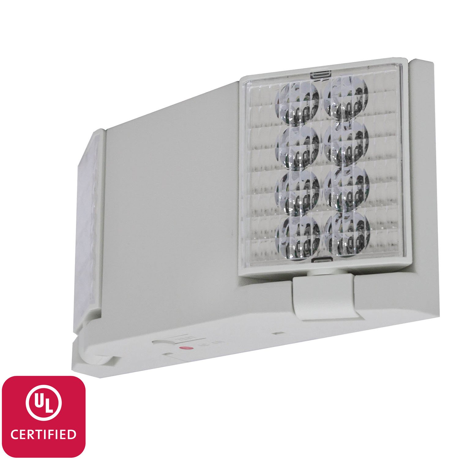 LFI Lights - UL Certified - Hardwired LED Emergency Egress Light - Flush or Adjustable Heads - ELFW2