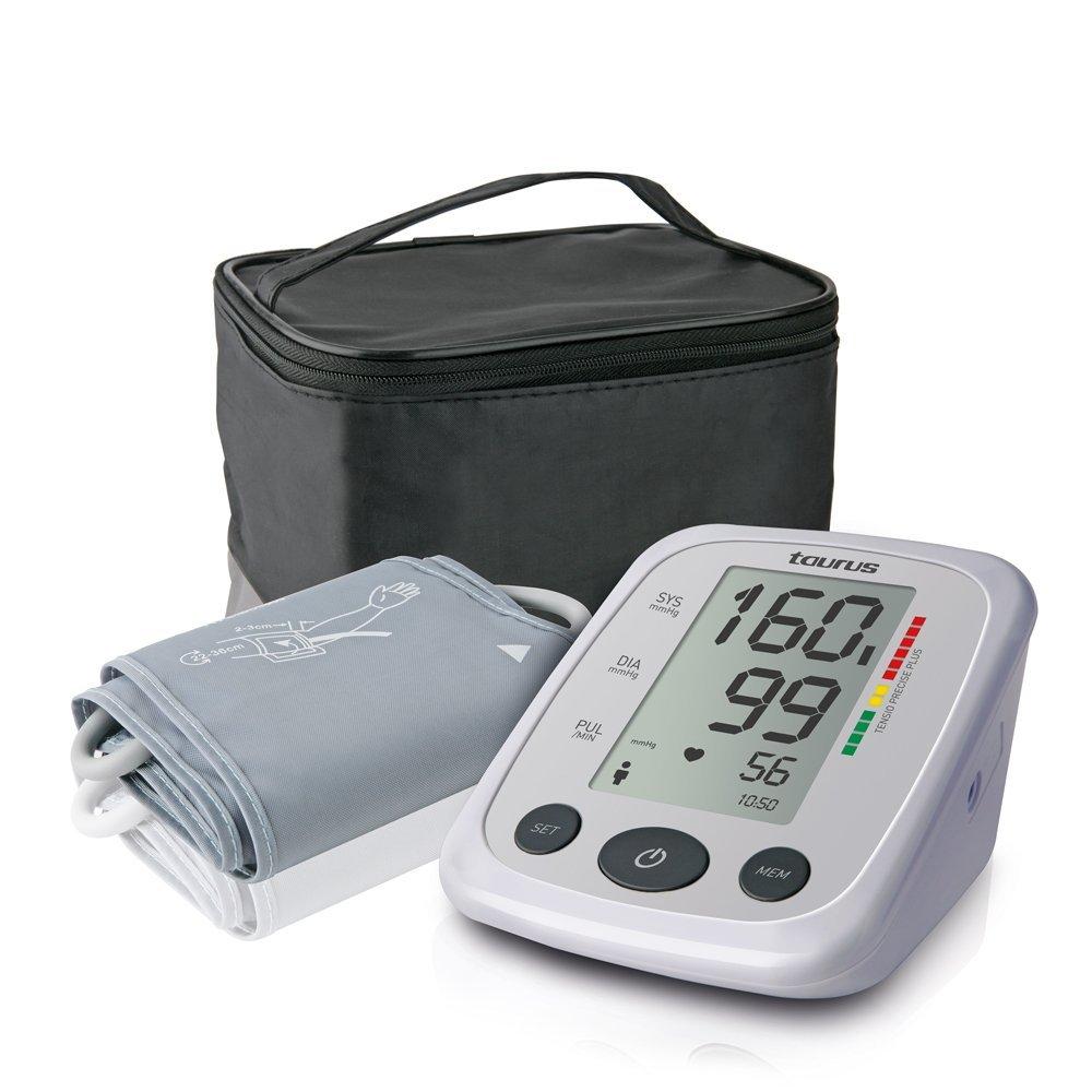 Taurus 907146 Tensio Precise Plus-Tensiómetro (60 memorias, Pantalla LCD)), Gris, Blanco: Taurus: Amazon.es: Salud y cuidado personal