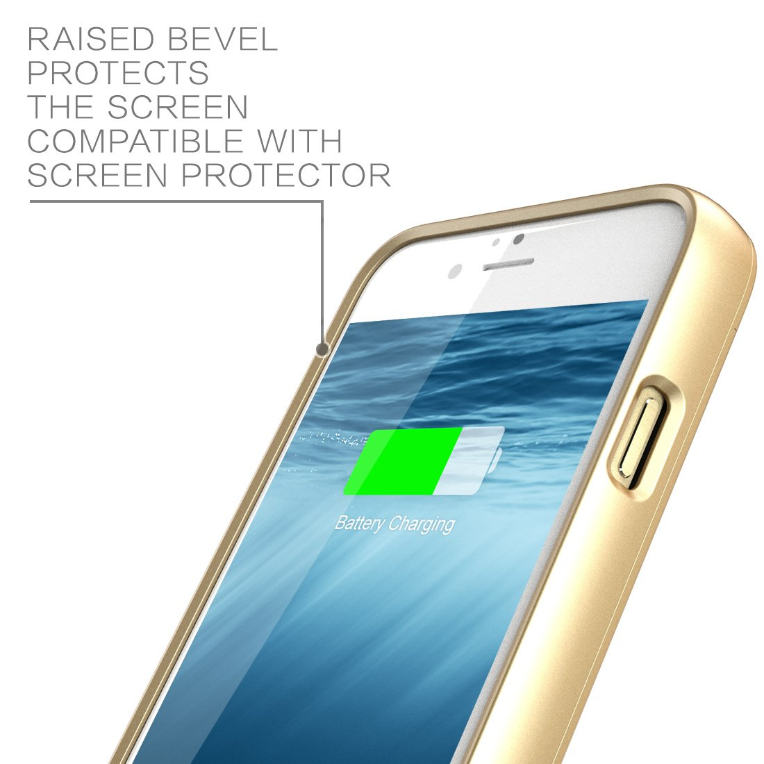 Iphone 6 Plus Battery Case I Blason External Protective Cell Phone Shield With Charger For All Versions Of Apple 6s Ultra Slim