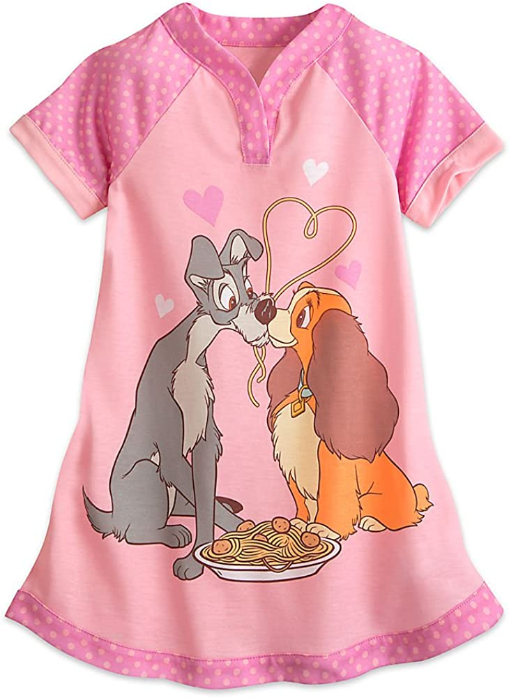 DISNEY LADY AND THE TRAMP LS SHIRT SIZE 12 18 24 MONTHS 3T 4T NEW!
