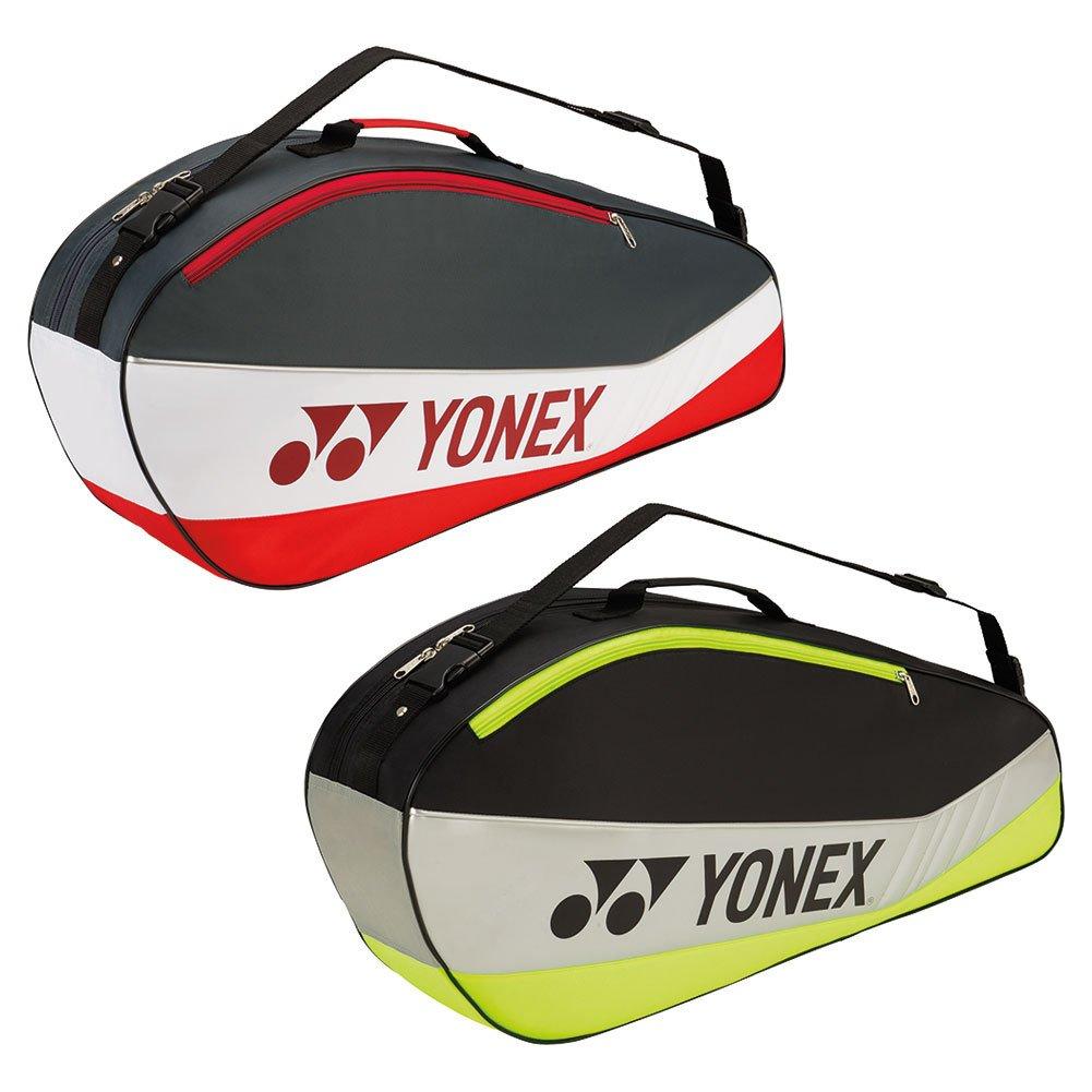 Yonex Club Series (3-Pack) Tennis Bag (Black/Lime)