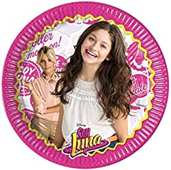Soy Luna 9in Paper Plates (8)