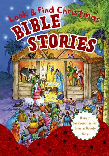 Look and Find Bible Stories: Christmas (Behind For Christmas Story Kids)