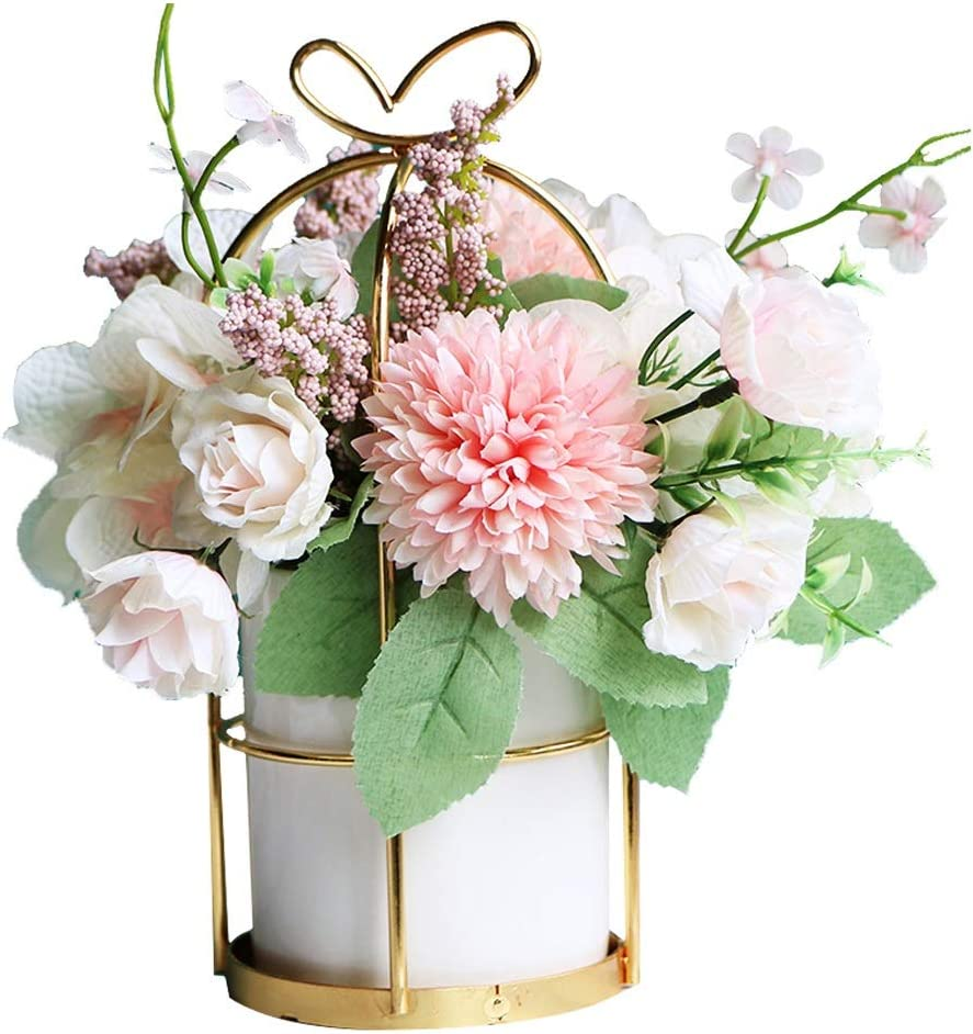 decorative table centerpieces.htm amazon com anchor1 artificial silk flowers with vase faked  anchor1 artificial silk flowers