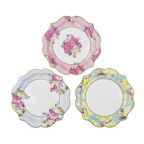 Floral Plates: Amazon.co.uk