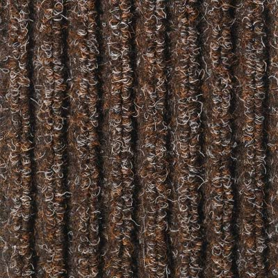 Super Ribbed Water Diverter Chocolate 12 x 16 Entrance Mats