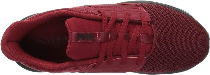 PUMA Kids' Enzo Street Sneaker, red