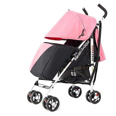 WFCVS Sillas de paseo Carrito de bebé Sit Lie Carro de bebé ...