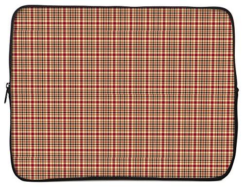 designer-sleeves-17-neoprene-laptop-bag-case-designed-orange-red-color-rusty-plaid-17gs2p-rp