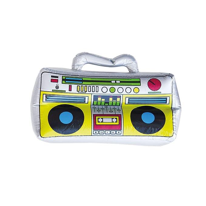 Oblique Unique® Boombox Radio Hinchable Juguete de Agua ...