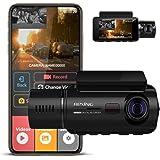 REXING V3 Básico Frente Dual Camera e Camarote infravermelho Night Cam traço Visão Full HD 1080p WiFi Carro Táxi com Supercap