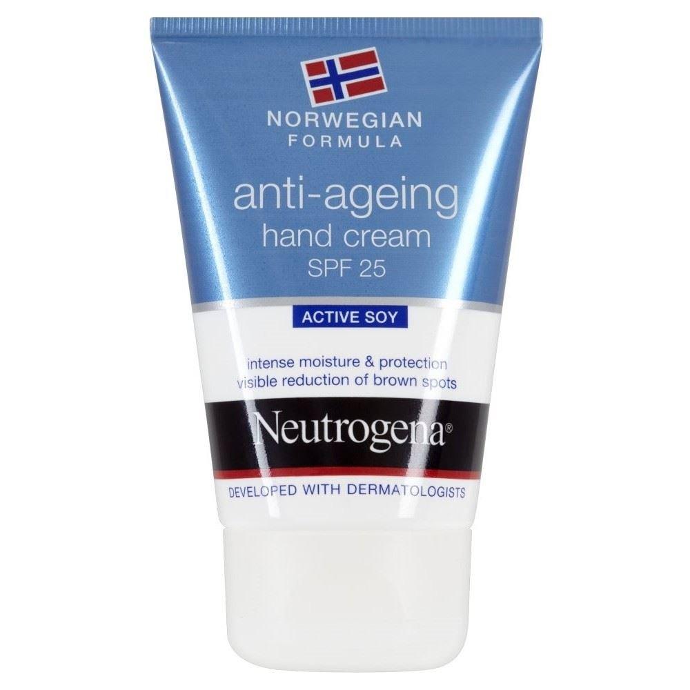 Neutrogena Norwegian Formula Anti Ageing Hand Cream SPF25 (50ml) - Pack of 6