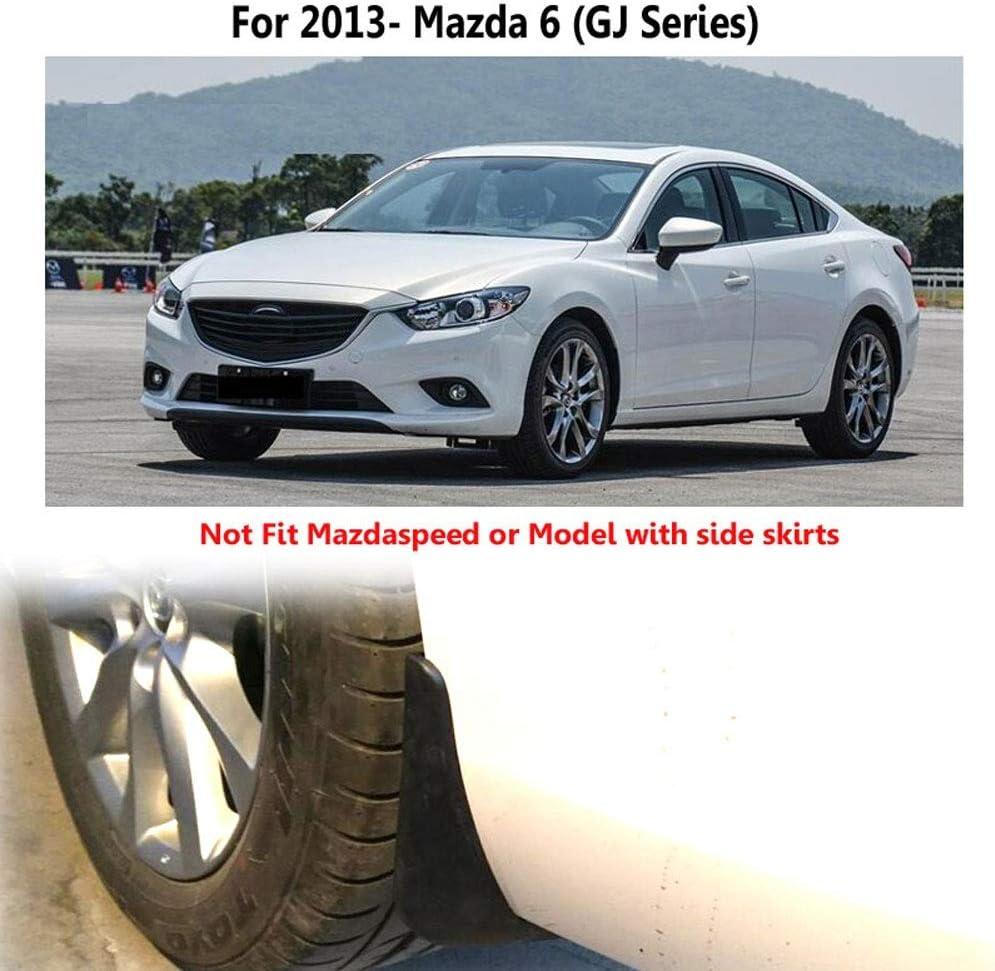 4Pc Car Mud Flaps For Mazda 6 GJ Atenza 2013-2017 2018 2019 Mudflaps Splash Guards Mud Flap Mudguards Fender 2014 2015 2016