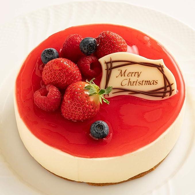 お取り寄せ(楽天) 真っ赤なベリームースケーキ★ ルージュ・ビアジェ 西内花月堂 価格5,200円 (税込)
