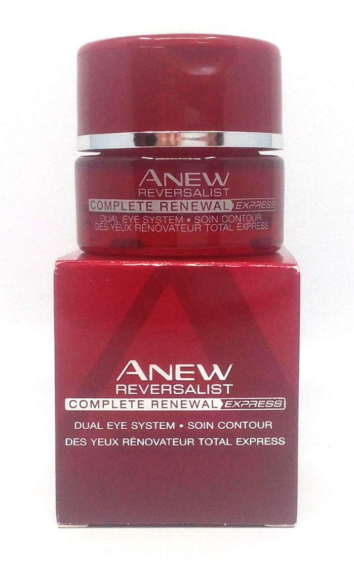 4 x AVON Anew Reversalist Complete Renewal Express Dual Eye System 15ml – 0.5oz SET