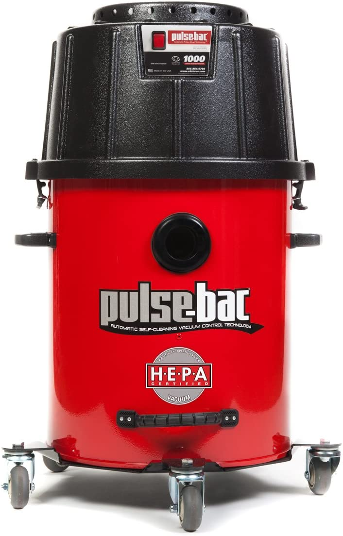 Pulse-Bac 1050H HEPA Certified Vacuum w/ Auto Filter Cleaning