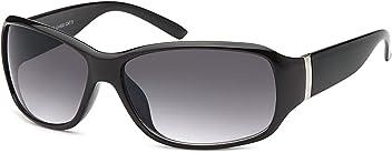 Sportlich Elegante Damen Sonnenbrille Kunststoffbrille mit polarisierten Gläsern- Im Set mit Zubehör