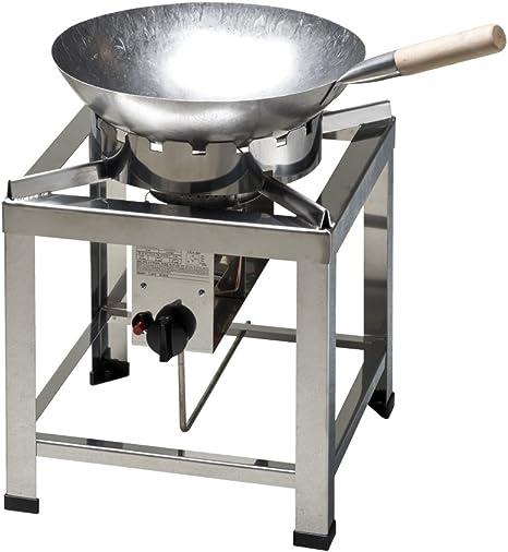 Taburete eléctrica, hornillo de gas, China Horno, hk2000e 10 KW con wok 36 cm de diámetro y wok de Ring, Gas líquido