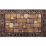 Apache Mills Inc 732-1449-1830 18x30-Inch Aberdeen Welcome Mat