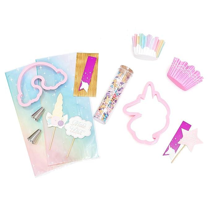 Amazon.com: American Crafts Sweet Tooth Fairy Food Crafting Black Friday Unicorn Baking Kit - 75-Piece Set: Kitchen & Dining