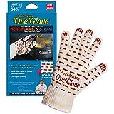 Ove Glove The Anti Steam Ove Glove Left Hand, Yellow w/ White