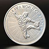 UltaPlay(TM) Beautiful Brazilian Sports Challenge Coins/Silver Coins
