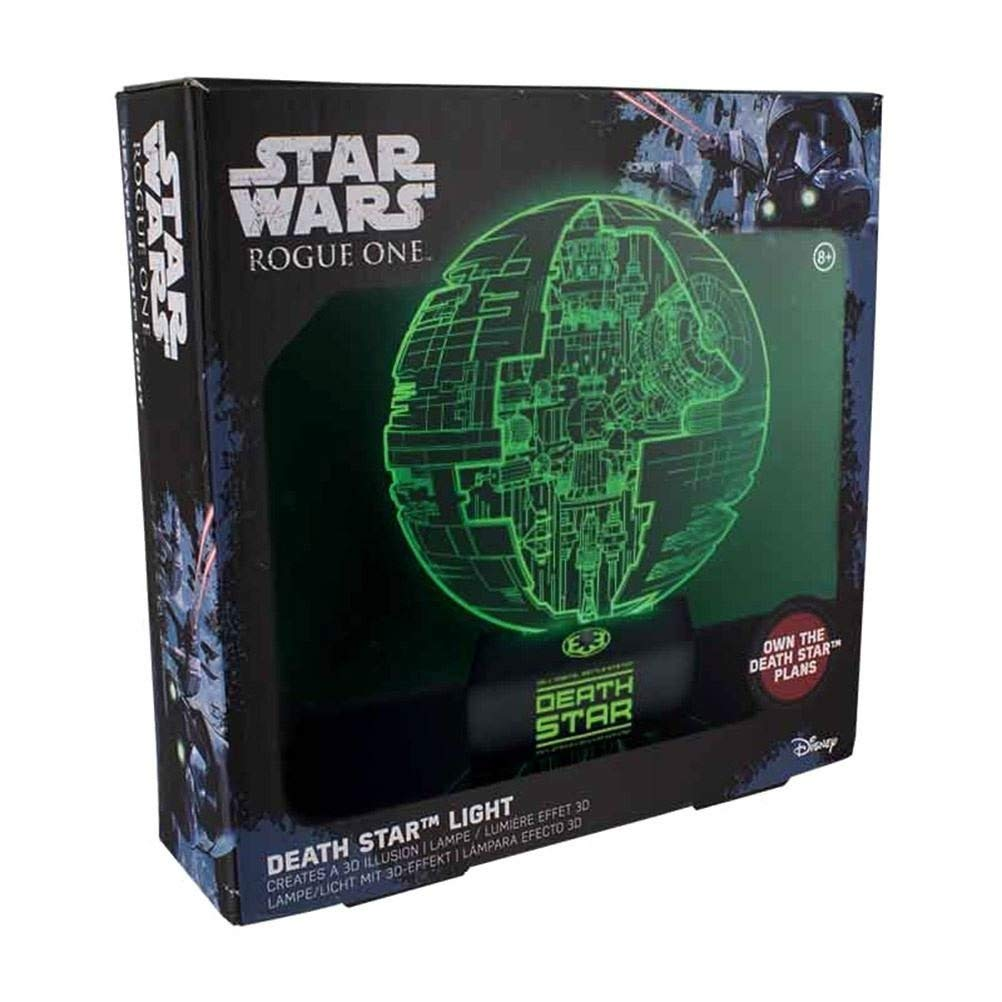 Star Wars Rogue One Death Star - Lámpara de techo, multicolor