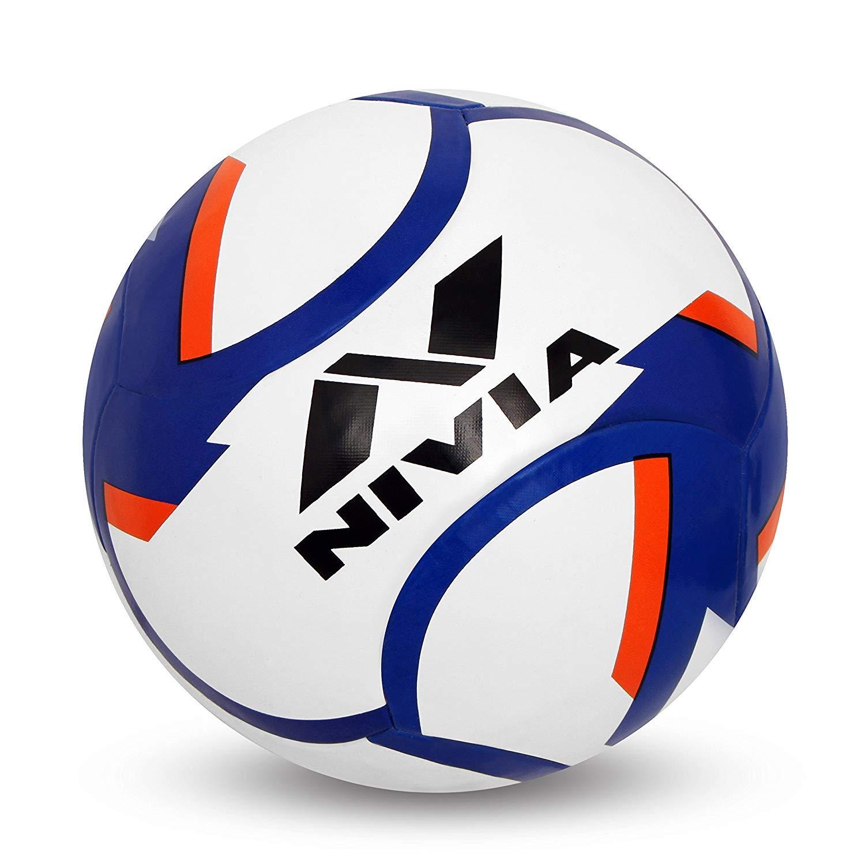 SAI MUSICAL Nivia Dominator - Balón de fútbol de Goma, Talla 5 ...