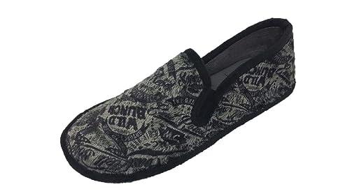 Zapatillas de Estar por casa/Hombre/Biorelax/Cerradas de Talón/Color Gris