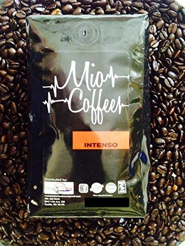 Intenso Whole Bean - Mio Coffee - Intenso Whole Bean Coffee ; 2lbs