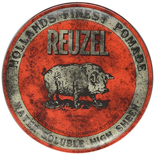 Reuzel Pomade Red Water Soluble High Sheen - 113 G