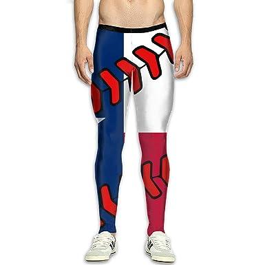 Amazon.com: Pantalones de yoga para hombre, con bandera de ...