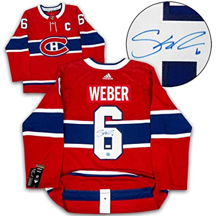 Image Unavailable. Image not available for. Color  Signed Shea Weber Jersey  - Adidas - Autographed NHL Jerseys bff62ab4bc7
