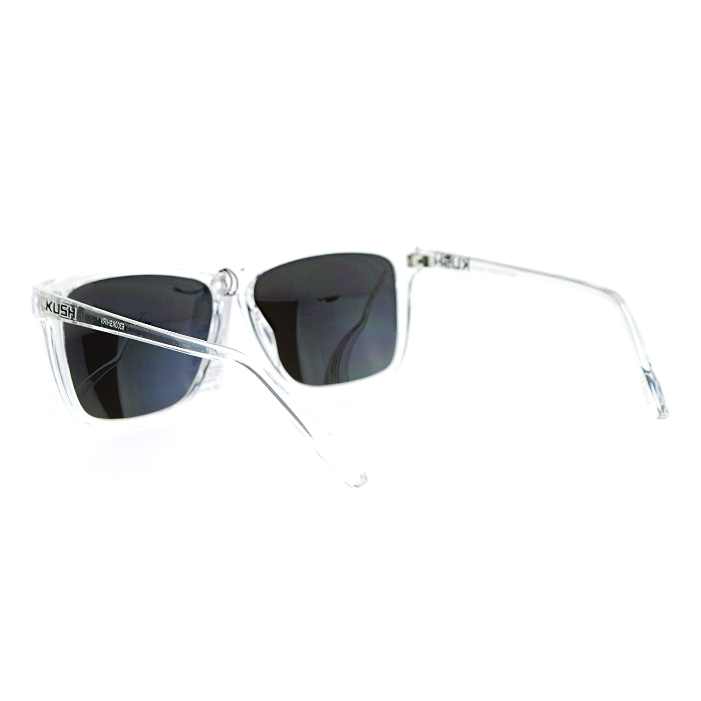 Amazon.com: Kush anteojos de sol Marco transparente, clásico ...