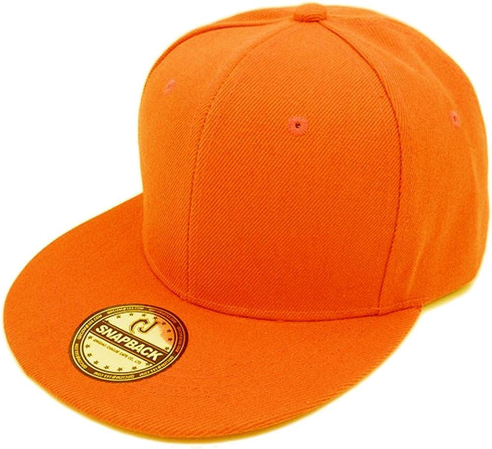 Underground Kulture Snapback Arancione Flat Peak Cappellino Da Baseball