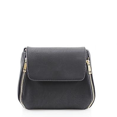 1431c7c480 LeahWard Women s Cross Body Messenger Bag Handbag (BLACK CROSS BODY ...