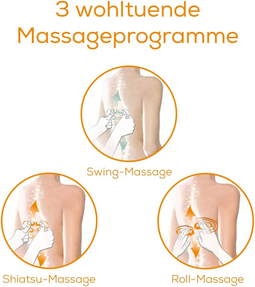 Starke Shiatsu Massage für Zuhause