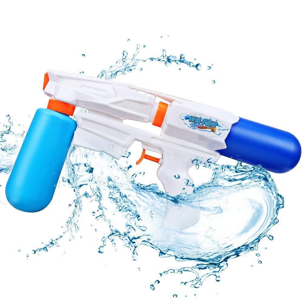 Rolytoy VraiJouet Pistola de Agua Water Gun Super Pistola con Alcance Largo para Niños y Adultos de Verano Piscina Playa al Aire Libre