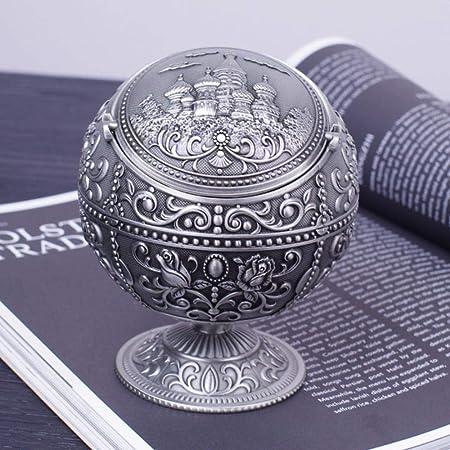 NIAN Cenicero Globe con Cubierta Personalidad de Moda ...
