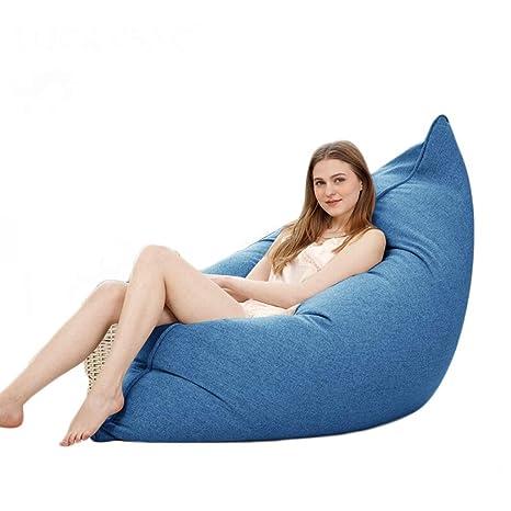 Surprising Llhjd Bean Bag Sofa Bed Fabric High Back Comfortable Customarchery Wood Chair Design Ideas Customarcherynet