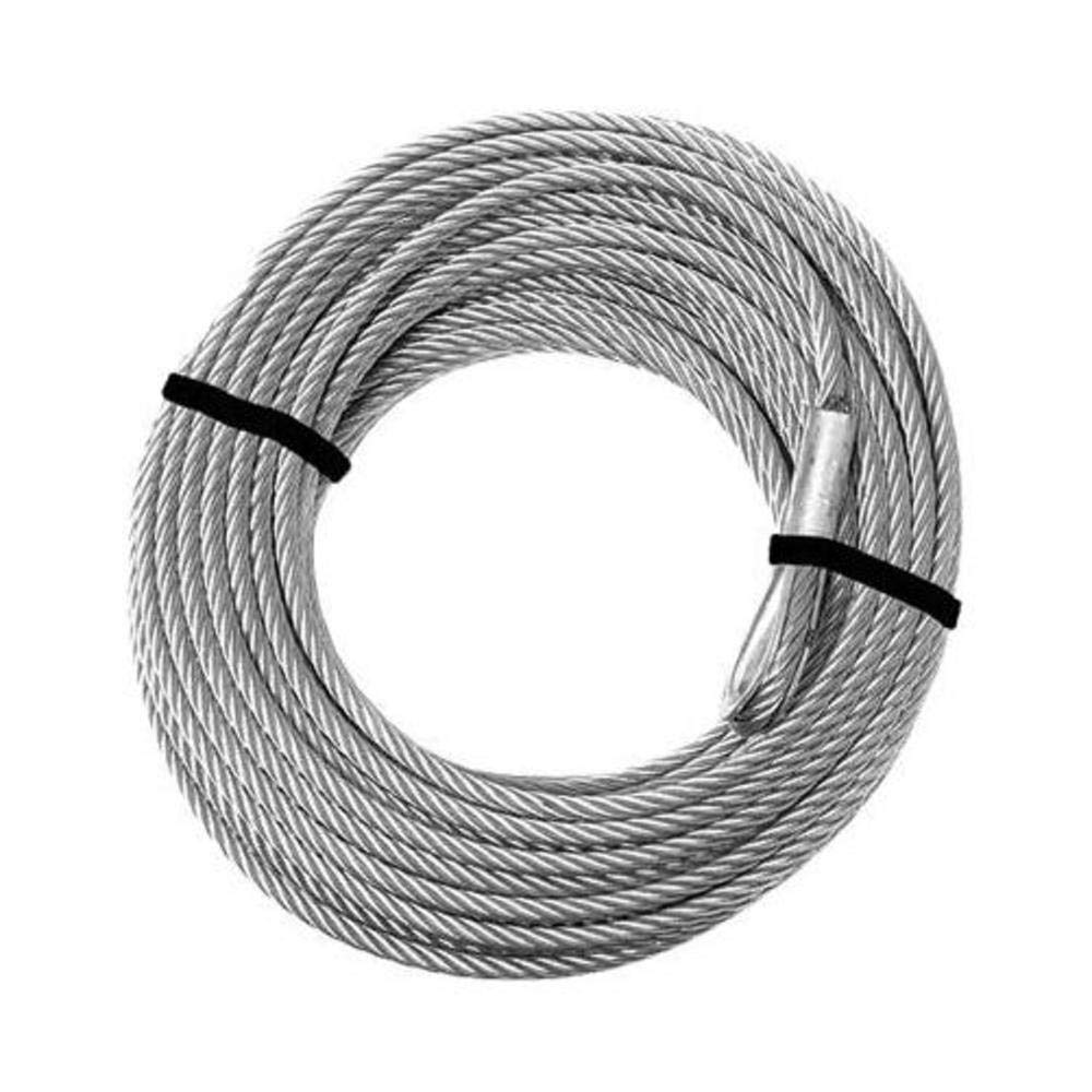 KFI Products Replacement Steel Cable for KFI Winch Kit - 4500-5000 Series ATV-CBL-4K CECOMINOD063413