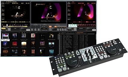 MixVibes - VFX Control - Mesa de mezclas digital con tarjeta de ...