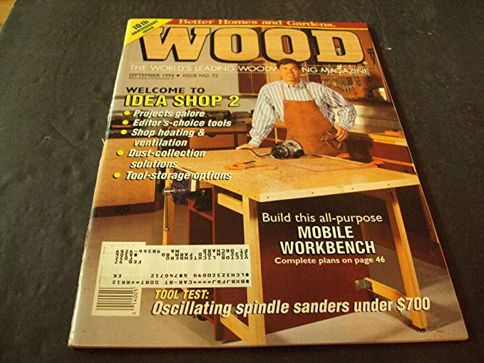 Magnificent Better Homes And Gardens Wood Sep 1994 Mobile Workbench Ibusinesslaw Wood Chair Design Ideas Ibusinesslaworg