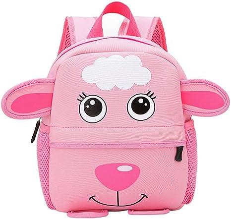 Enjocho Children Backpack 2018 Style Kid School Bags Kindergaten Cartoon Shoulder Bag Bookbags one Size B