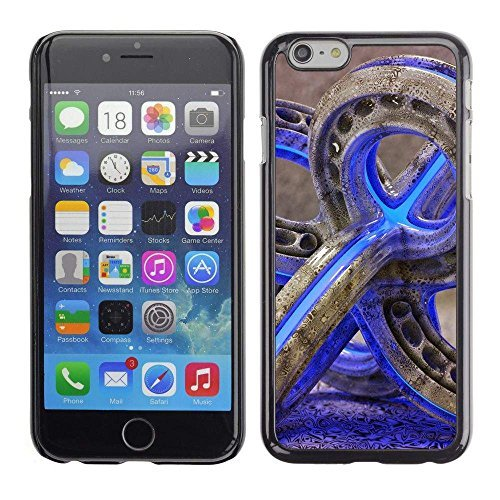 GIFT CHOICE / Slim Hard Protective Case SmartPhone Shell Cell Phone Cover for Apple Iphone 6 Plus 5.5 // glass pipe weed 420 purple neon color //