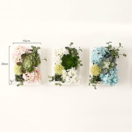 Flowers//Floral Living Room Creative 3D Artificial Plants Home Wall Decor