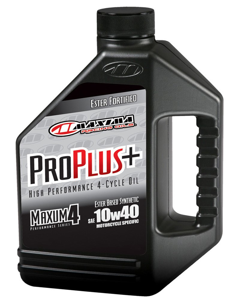 Maxima (30-029128) Pro Plus+ 10W-40 Synthetic Motorcycle Engine Oil - 1 Gallon Jug by Maxima