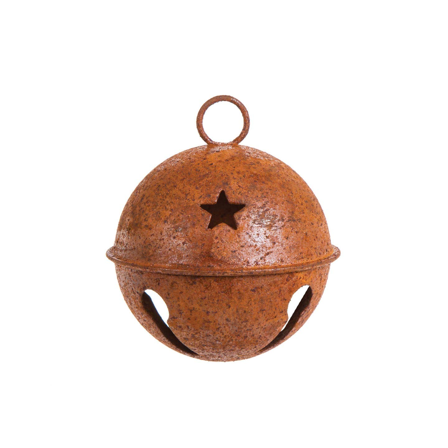 Darice Bulk Buy DIY Rusty Bell with Star Cutouts 65mm (12-Pack) 1091-20 by Darice