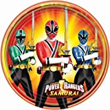 Power Rangers Samurai Dessert Plates Party Accessory by Amscan