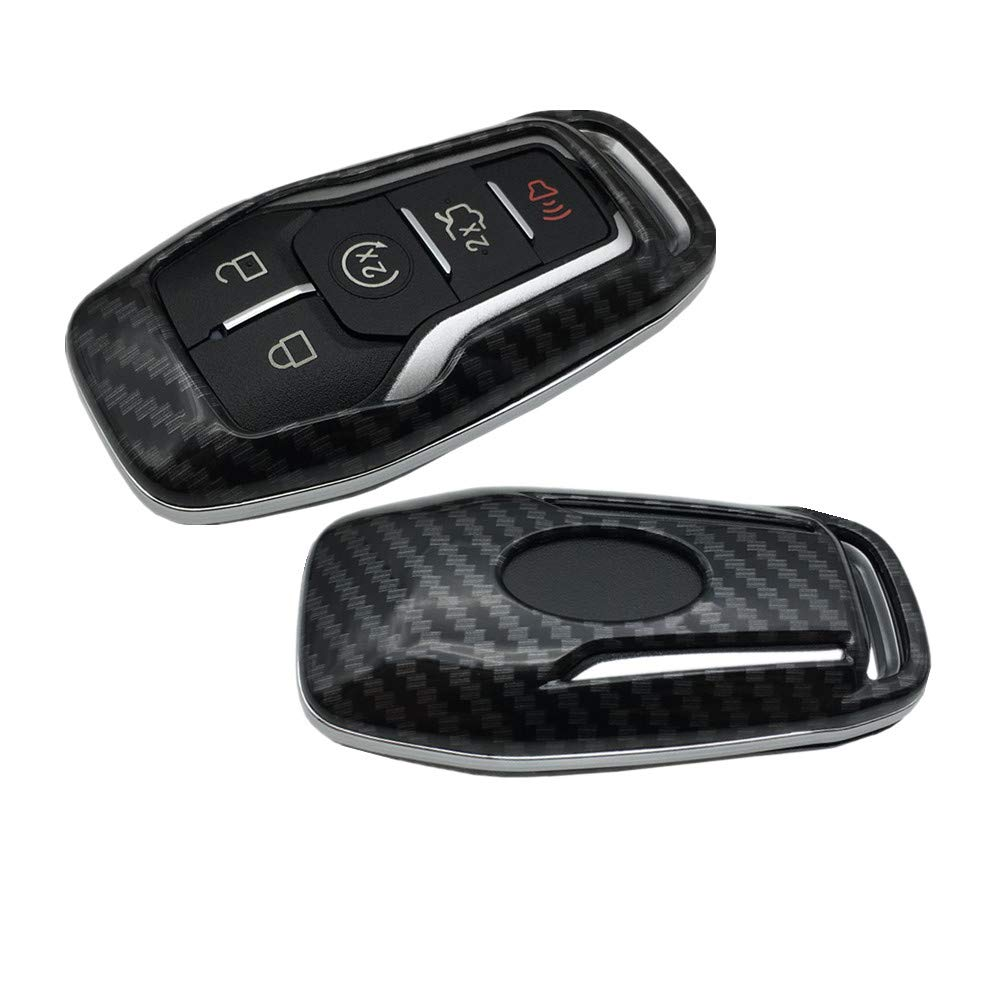 Dewangli Glossy ABS Smart Remote Key Fob for Ford Lincoln Fusion Mustang Edge 4/5 Button